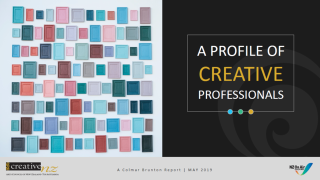 Creative Professionals Report cover image.